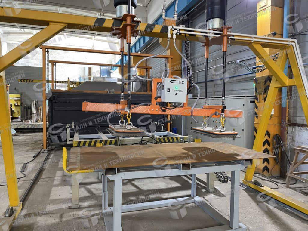 Процесс производства броневой стали